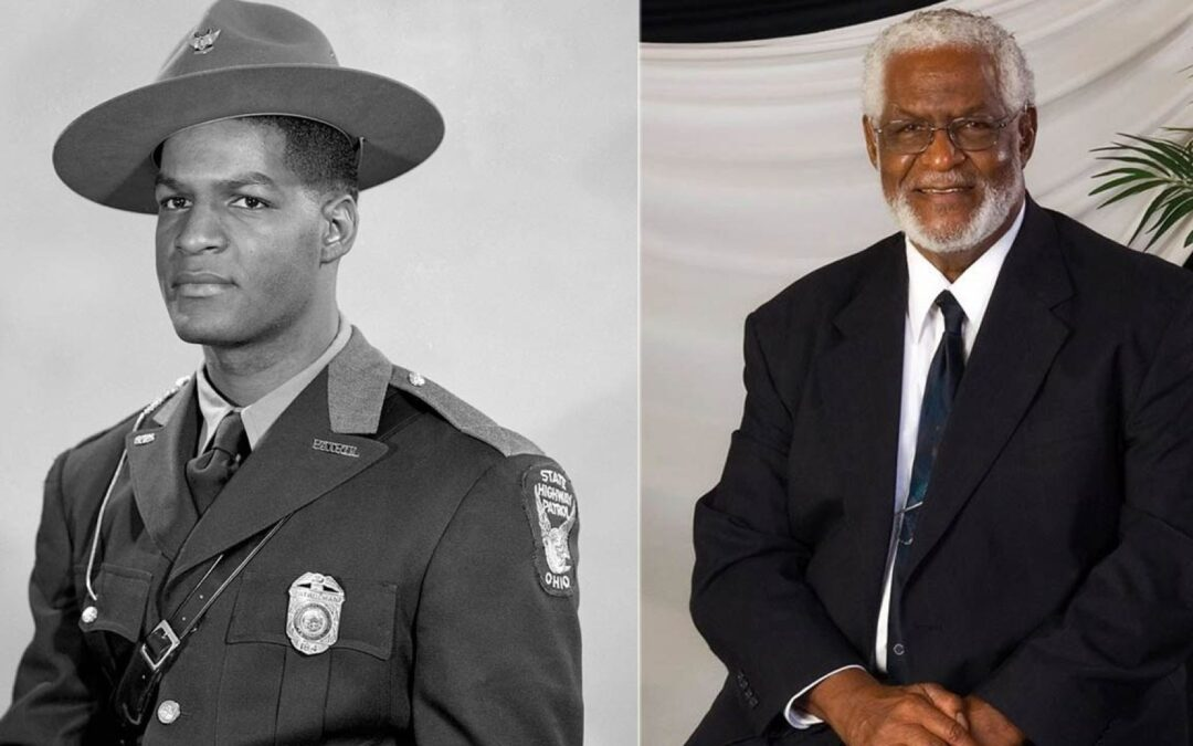 """Louis """"Lou"""" Dale Sharp, the first African American state trooper"""